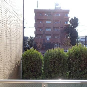 眺望はこちら。※2階からの眺望になります。