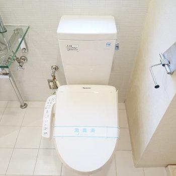 タイルがかわいいトイレ♪※写真は前回募集時のものです。