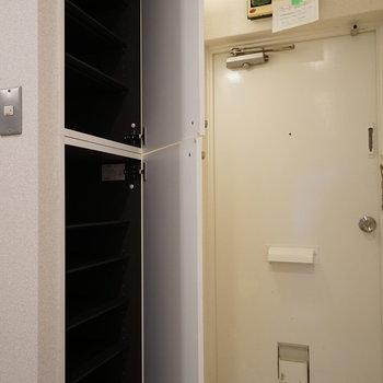 玄関も清潔感が嬉しい!※写真は前回募集時のものです。