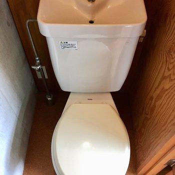 トイレにはコンセントがあります。