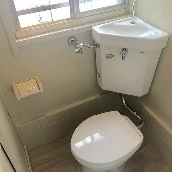 トイレも明るいんだ〜※写真は前回募集時のものです