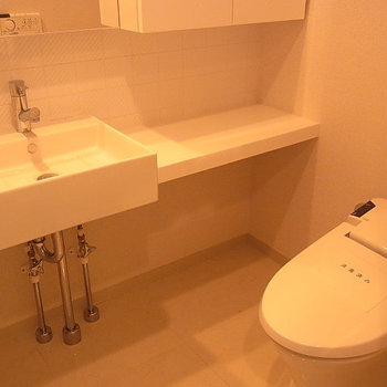 この洗面台、いいですね※5階の似た間取りの別部屋