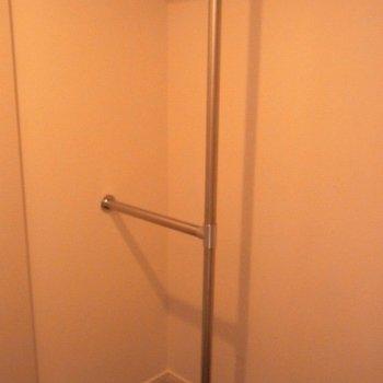 ウォークインクローゼット並みの収納※5階の似た間取りの別部屋