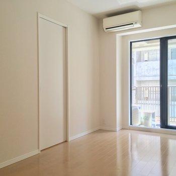 ペット相談可というのも嬉しいポイント ※写真は2階の反転間取りのお部屋です。