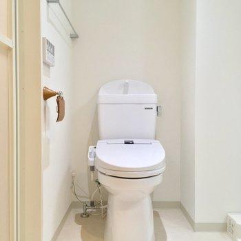 トイレも同じスペースに