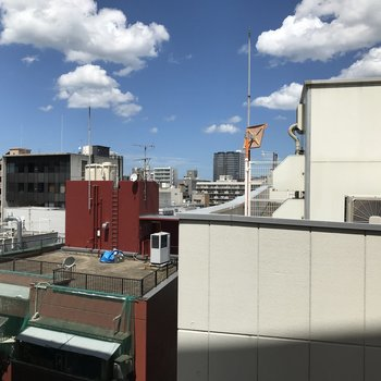 9階からの景色はなかなかです◎