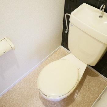 トイレはウォシュレットがありません