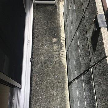 1階の窓を開けたらこんなかんじ