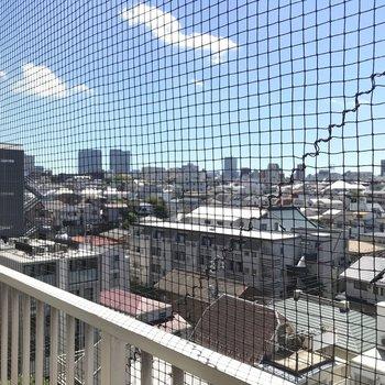 青空と眺望