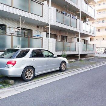 駐車場も!
