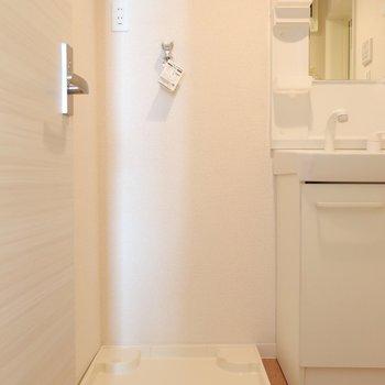 洗濯パンも使いやすいところにあります。