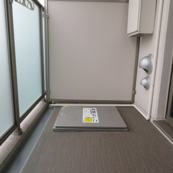 バルコニーからは※写真は14階の同間取り別部屋のものです