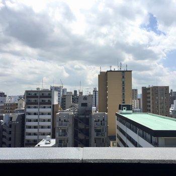 さすが9階の眺め