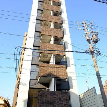 縦になが〜いマンション!