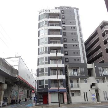 箱崎駅すぐそばのカッコイイマンション。