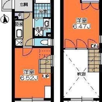 ロフトじゃないです、しっかり2階ですよ。