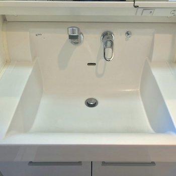 機能面もグーな洗面台です。※写真は前回募集時のものです