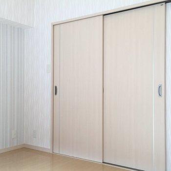 扉をしめても窮屈じゃないです!