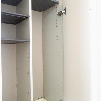 下も使えますよ〜※写真は8階の同間取り別部屋、クリーニング前のものです