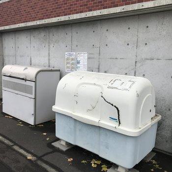専用ゴミ置き場もあります