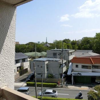 窓からの眺望※写真は4階からの眺望のものです。