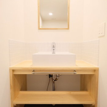 オリジナル洗面台※写真はイメージです