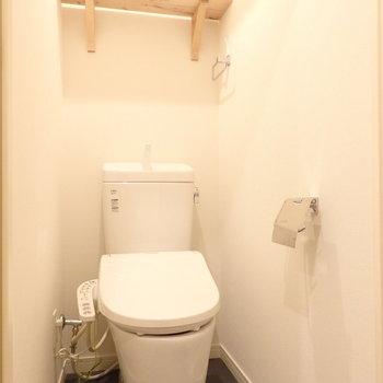 トイレも新品です!※写真はイメージです