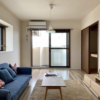 【LDK】ソファなども置けますよ〜※家具はサンプルになります