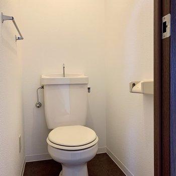 トイレも綺麗です。