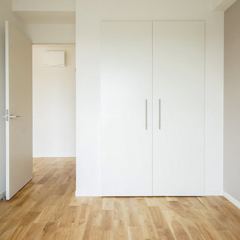【写真はイメージ】クローゼットの扉はこのように白くなります!