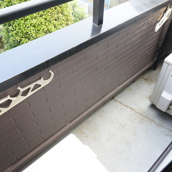 バルコニーもちゃんと◎※写真は同間取り2階、別部屋のものです。