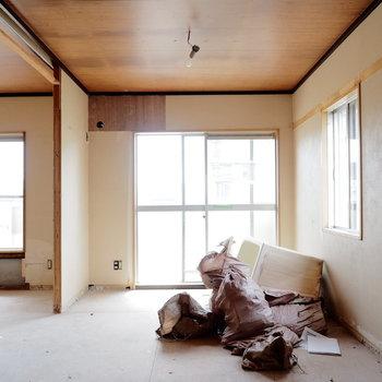 【工事中】日当たりがよい角部屋