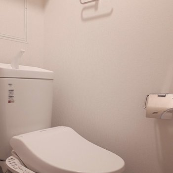 トイレ】新たにトイレが設置されて気持ちいいですね!