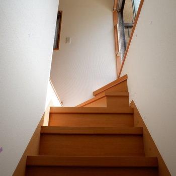 お次に2階へ。