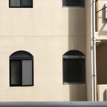眺望は建物です