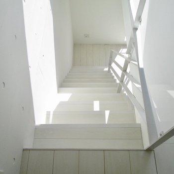 下の階に行きましょう〜※写真は3階の同間取り別部屋のものです