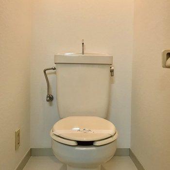 このトイレは閉塞感がなくてよかったです。