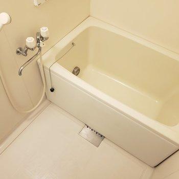 お風呂はゆったり~※写真は1階の反転間取り別部屋のものです