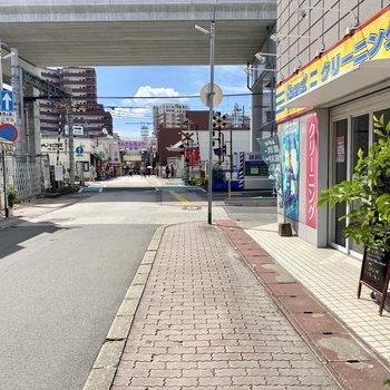 雑餉隈駅までは徒歩2分ほど!銀天町商店街もすぐですよ♩