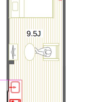 玄関からお部屋が見えないのもGOODです!