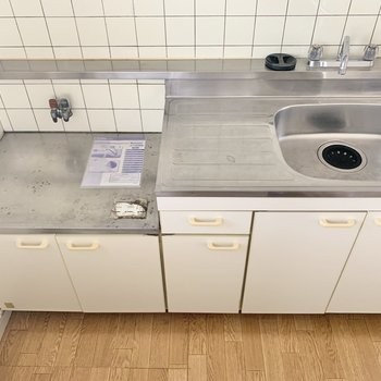 調理スペースが確保されていますね。