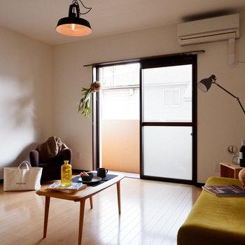開放感がありますね。※家具はサンプルです