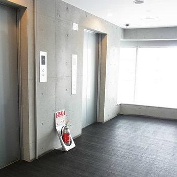 エレベーター部分