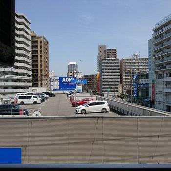 眺望は6階なので抜けているはず ※写真は別部屋3階からの眺望写真です