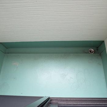 バルコニーかわいらしいサイズ感※写真は1階の反転間取り別部屋のものです。