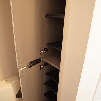 最終チェックはこの鏡で!※写真は1階の反転間取り別部屋のものです。