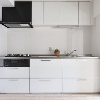 キッチンはとても美しい佇まい(※写真はモデルルームです)