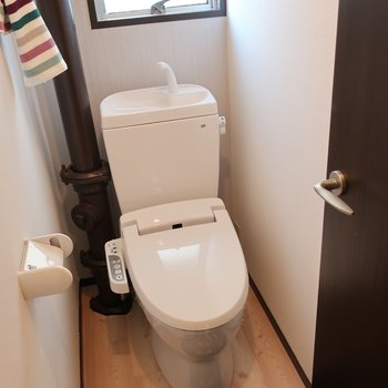 トイレもウォシュレット完備!(※写真はモデルルームです)