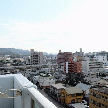 清々しい眺め。※写真は9階の同間取り別部屋のものです