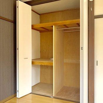 大容量の収納スペース